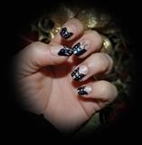 black corset & glitter - happy new 2012!