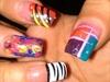 multi design nail