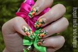 Neon Florals