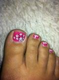 toe flower art