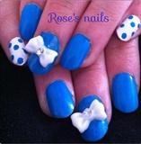 blue bows