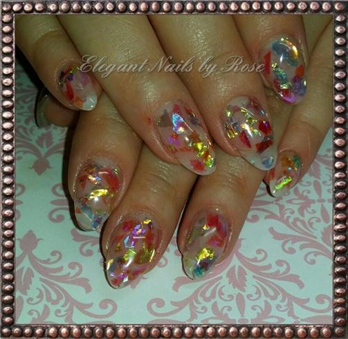 mylar sculptured nails