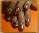 golden cheetah print