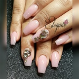 Sculpted French pink