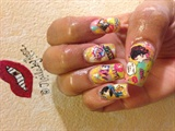 Cartoon nails