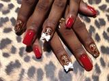 Red n cheetah
