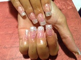 Glitter nails acrylic