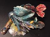 Nail Art 3 D Mermaid