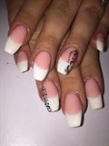 Pink And White Hard Gel Cuccio