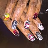 Rocky Horror Show Nails