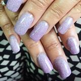My lilac glitter
