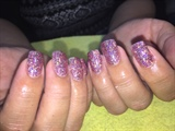 Hologram Pink Glitter
