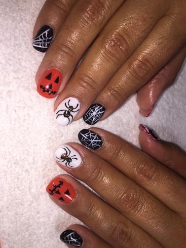 Handpainted Halloween