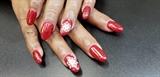 Red Glittery