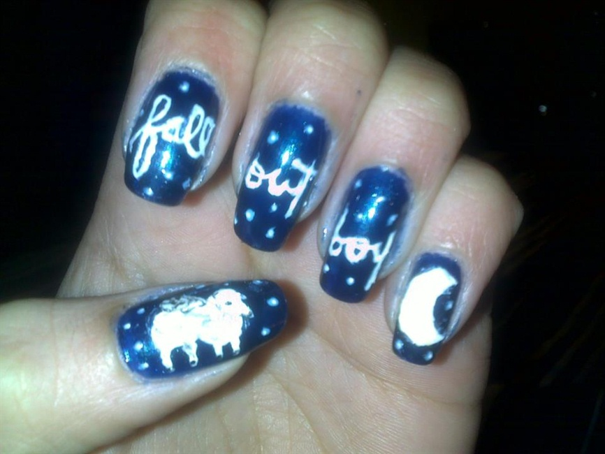 Fall Out Boy - Infinity On High - Nail Art Gallery