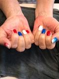 July 4 Nails Design