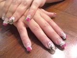 Pink & White D'vine