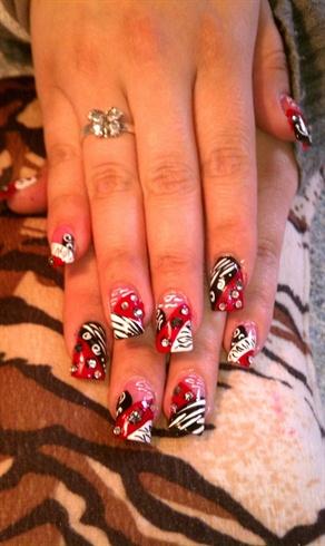 Red Passion Zebra