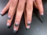Mermaid Glitter Acylic