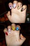 uñas de Lady Gaga