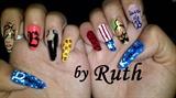 Nails Beyonce