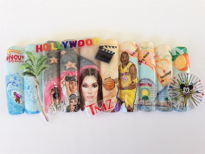 Next Top Nail Artist Southern California - Nail Art Gallery Step-by ...