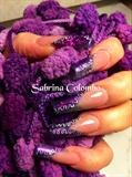 Purple French Square