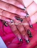 Nail Art Floreale Rico Unghie Gel