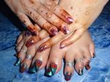 only nail enamel