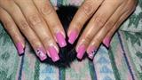 Gel polished nails