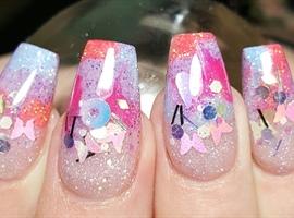 nail art: Summertime