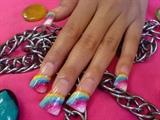 fan rainbow