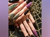 Halloween Stiletto Nails