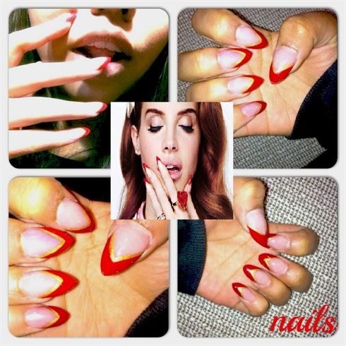 Lana Del Rey 3 Nail Art Gallery