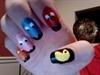 Pac-man Manicure