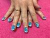 Subtle CND & Acrylic Art Nails