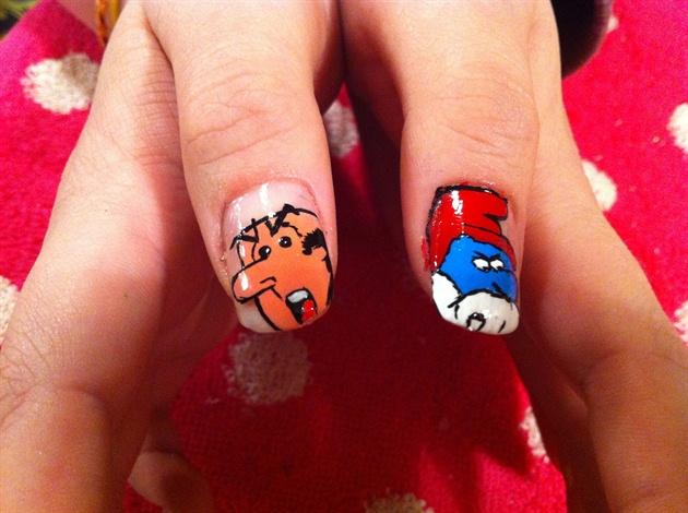 Smurfs thumbs