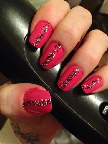 Speckled pink