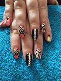 Tribal Coral Bling