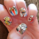 Cartoon network Nail art!