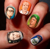 GTA nailart