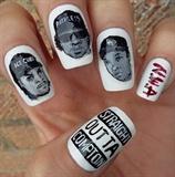 Straight Outta Compton / N.W.A nail art