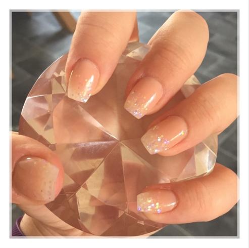 Baby Boomer Acrylic Nails