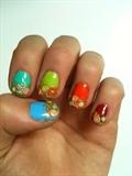 Fruity summernails