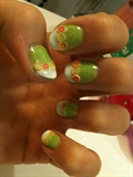 Citrus fruit nails