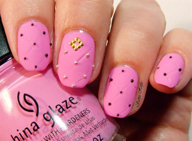 Quilted Nails Nail Art Gallery