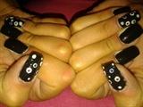 spotty black