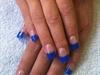Dark Blue Glitter