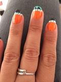 Orange Aztec