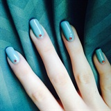 Minimal Ariel Inspired Nails